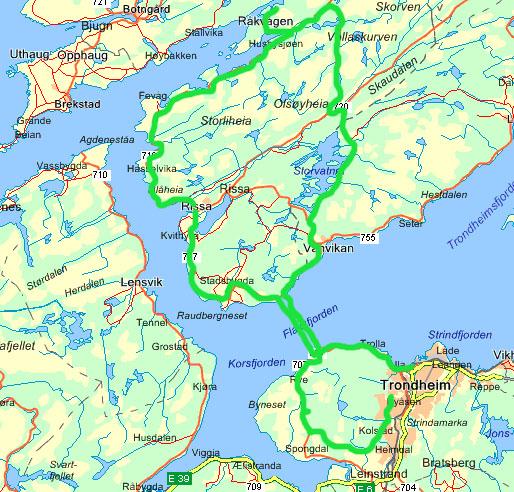 kart over rissa Nyheter 2007 kart over rissa